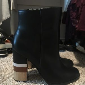 Size 8.5 booties